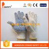 Ddsafety 2017 Natural Cotton with Polyester String Knit Gloves with Logo