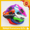 Color Band with Debossed Logo Silicone Watch Bracelet