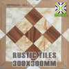 China 300*300 Small Size Rustic Floor Tiles