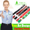 Eco-Friendly Printing Polyester Custom Wrist Strap Lanyard