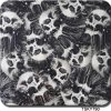 Tsautop Tsky790 Skull White Black Pattern Hydro Graphics Film