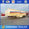 3 Axles 30kl 40kl Carbon Steel Crude Oil Diesel Fuel Tank Tanker Semi Trailer