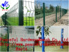 Green Color Triangle Bends Fence Factory