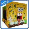 Inflatable Resident Cube Cartoon Bouncer for Kids