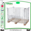 Folding Stackable Wire Mesh Containers Cage