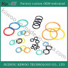 Wear Resistant Silicone Rubber Seals O-Ring