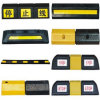 Safety Traffic Parking Barrier with Reflective Tape