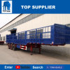 Titan Vehicle - 3 Axles Fence Type Flatbed Semi-Trailer 60 Ton for Sale
