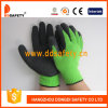 Ddsafety 2017 Green Liner Coated Black Latex Glove