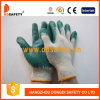 Ddsafety 2017 Cotton Polyester Liner Latex Smooth Finished Glove