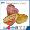 Embossing Heart Shaped Metal Food Packaging