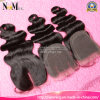 Queen Beauty Hair Lace Front Closure Piece Human Hair Invisible Part Closure