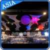 Inflatable Spiky Spheres Decoration Star /Decorative Stage Inflatable Light Star