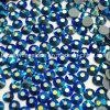 2018 Newest Hot Selling 5A Capri Bluse Ab Hot Fix Rhinestone Glass Crystal Copy Preciosa Stone (HF-ss20capri blue ab)
