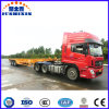 40FT 3 Axles Skeleton Chassis Utility/Cargo Container Truck Semi Trailer