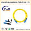 Optical Fiber Cable Patch Cord Sc-Sc Single Mode 1m