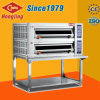Hongling Bakery Equipment 2 Deck 4 Tray Pizza Oven