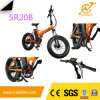 colorful 20X4 Electric Folding Bike / Electric Bicycle with Lithium Battery