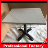 Black Stainless Steel Furniture White Marble Side Table