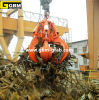 Electro Hydraulic Orange Peel Steel Scrap Grab