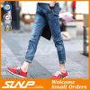 High Quality Cotton Men′s Basic Denim Ninth Jeans Pant