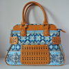 Cheap Price Factory Wholesale Woman Fabric Handbags (XD140483)