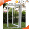 White Color PVC Casement Window with Double Glazing