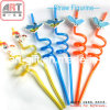 PVC 3D Drinking Straw & Cartoon Straw (MI-DS-01)