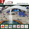 40m Span Huge Arcum Marquee Tent with Transparent Roof for Sports Event