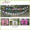 12 PCS Paper Banner Garland for Wedding
