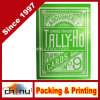 Green Tally Ho Reverse Circle Back Limited Edition Playing Cards (430114)