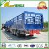 High Wall 3 Axles Air Suspension Fence Trailer