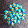 Emerald Ab Color Ss20 Flatback Non Hotfix Glass Rhinestones for Nail Art Deco