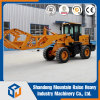 Long Arm Ultra High Dumping Height Log Fork Wheel Loader
