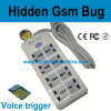 GSM 8 Mains Socket Audio Bug Listening Device