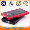 August New Arrival Solar Power Bank Green Energy 7600mAh Rubber Cover Solar Charger