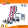 Double Head Film Extruder LDPE HDPE Film Blowing Machine