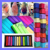 New 12 24 48 Colors Non-Toxic Temporary Hair Chalk Extension Dye Soft Pastel Salon Kit DIY Painting (TV-343)