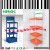 Supermarket Plastic Tier Display Stand