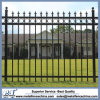 Steel Black Pointed Top Ornamental Security Steel Fence