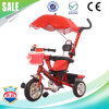 Three Wheel Bike Toys Children Tricycle with Roof