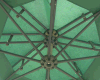10ft Round Double Roof Banana Umbrella Outdoor Umbrella Garden Umbrella Parasol