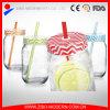 Mason Jar Lids Straw Wholesale Glass Drinking Jar Without Handle