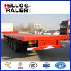 China Top Brand Trailer Company Manufacture Flatbed Trailer