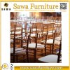 Restaurant Chairs Banquet Wood Chiavari Chair with Cushion