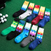 Colorful Diamond Socks Fashion Cotton Socks Sport Socks Latest Design