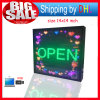 Outdoor Full Color LED Display Billboard USB Editable Support Text Logo Image Advertising LED Display Sign