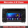 Car DVD Player for Pure Android 4.2.2 Car DVD Player with A9 CPU Capacitive Touch Screen GPS Bluetooth for Mercedes a B Viano (AD-7682)