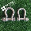 AISI316 Us Type Bow Shackle with Safety Pin