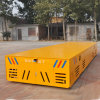 Foundry Plant Material Handling Electric Transfer Cart on Cement Floor